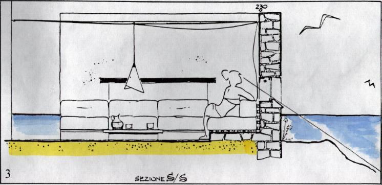 Come creare un salotto all'aperto, salotto spartivento